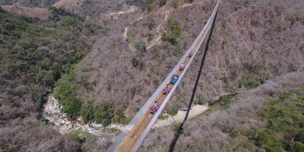 Puente colgante Puerto Vallarta
