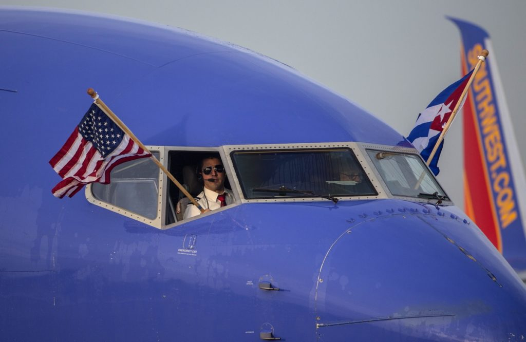 Southwest Airlines consolida sus vuelos a Cuba en La Habana