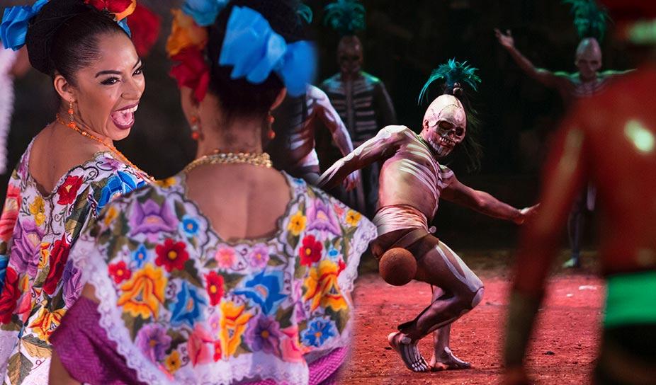 Xcaret presentó el 12° Festival de Vida y Muerte
