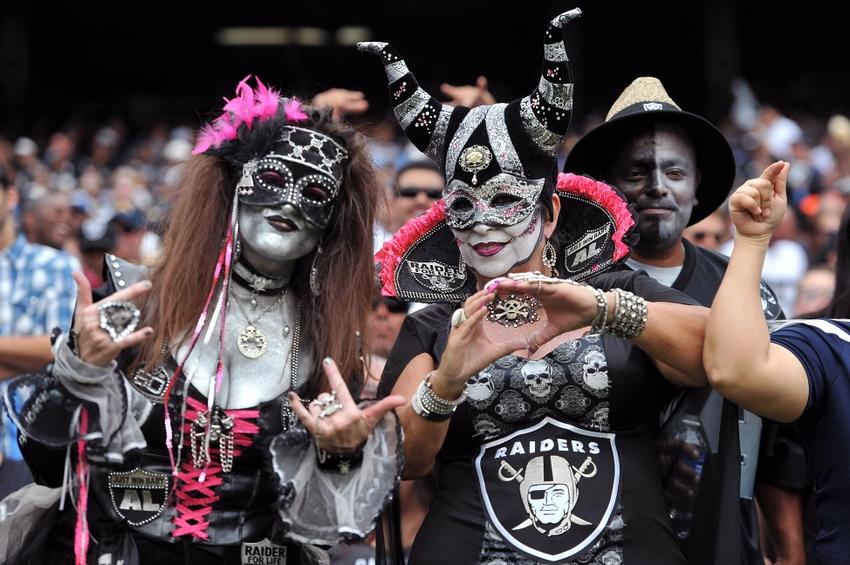 Los fans de los Raiders son en si mismos, un atractivo de la ciudad de Oakland, en California.