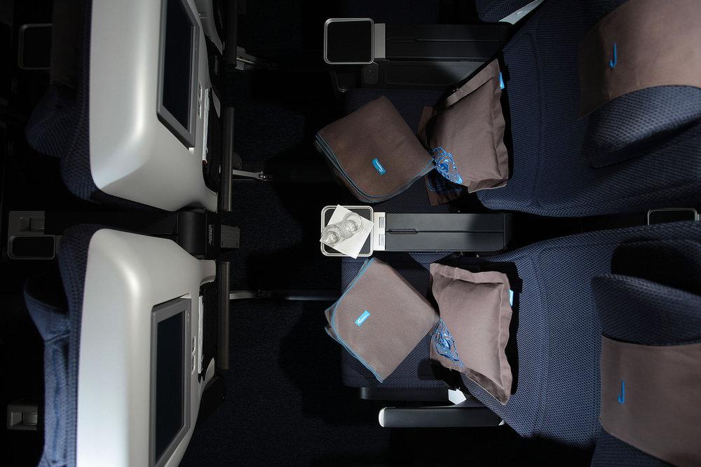 Asientos de la clase World Traveller Plus de British Airways
