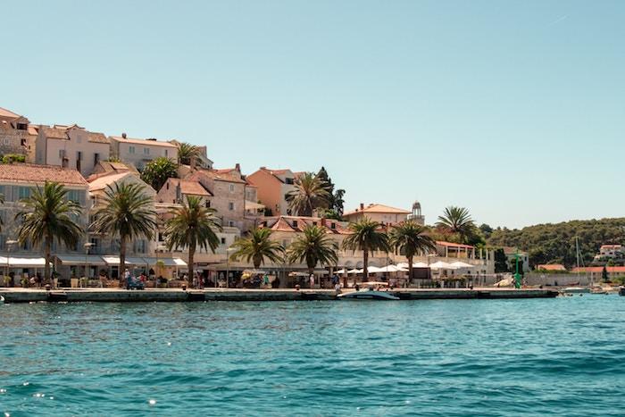 Verano en las costas de Dubrovnik Croacia
