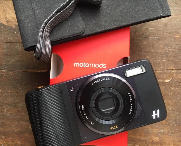La cámara Hasselblad que se integra al Moto Z de Motorola