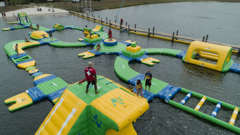 OWC Aquapark - Orlando Watersports Complex - Inflatable Water Park - Waterpark - Drone Aerial - 2018 - 0029.jpg