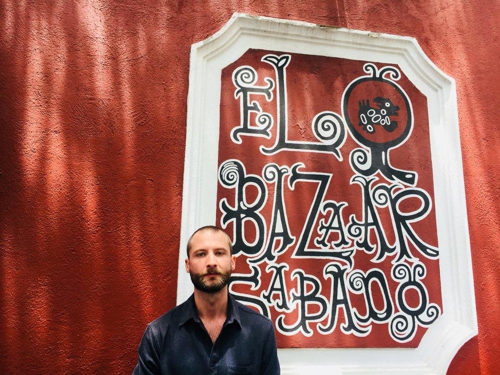 Diego Carranza, Director de El Bazaar Sábado
