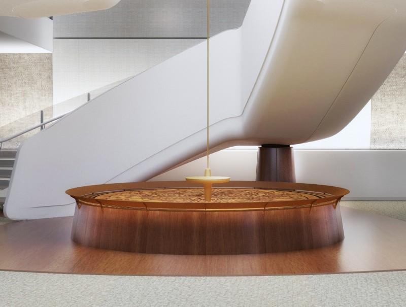 The Pendulum, dentro del Celebrity Edge.