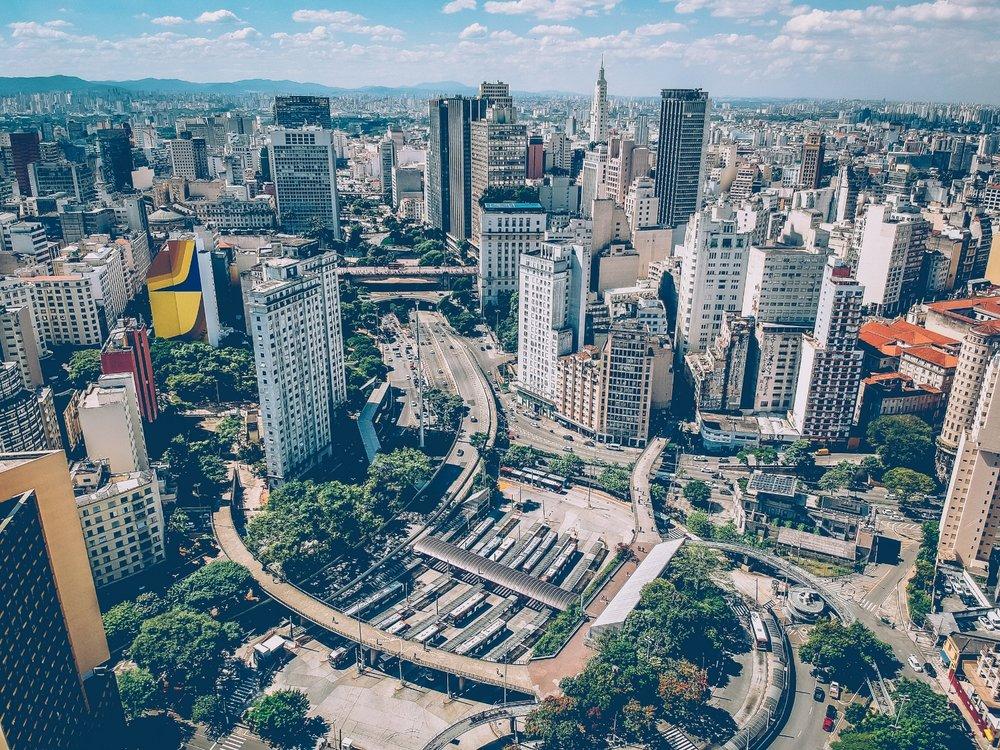 Vibrante Sao Paulo Brasil