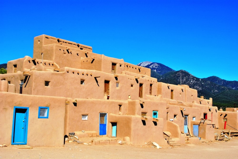 Taos Pueblo.Taos, Nuevo México