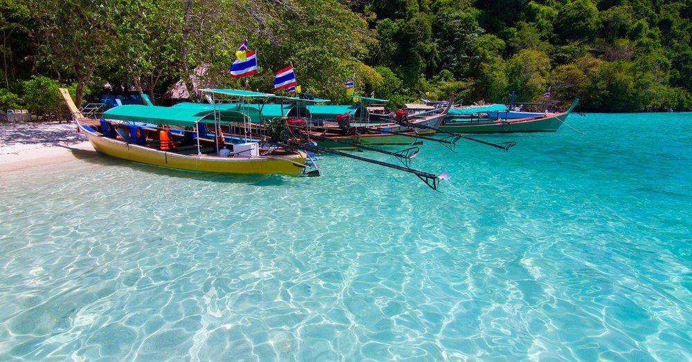 Parque Nacional   Islas Surin   en Thailandia