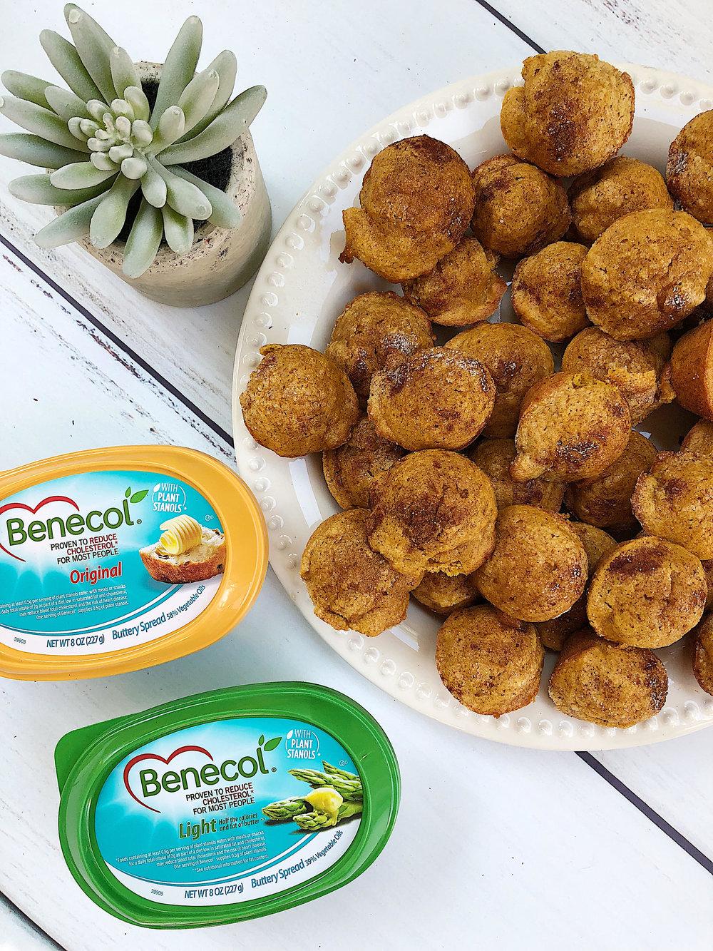 Benecol pumpkin muffins.jpg