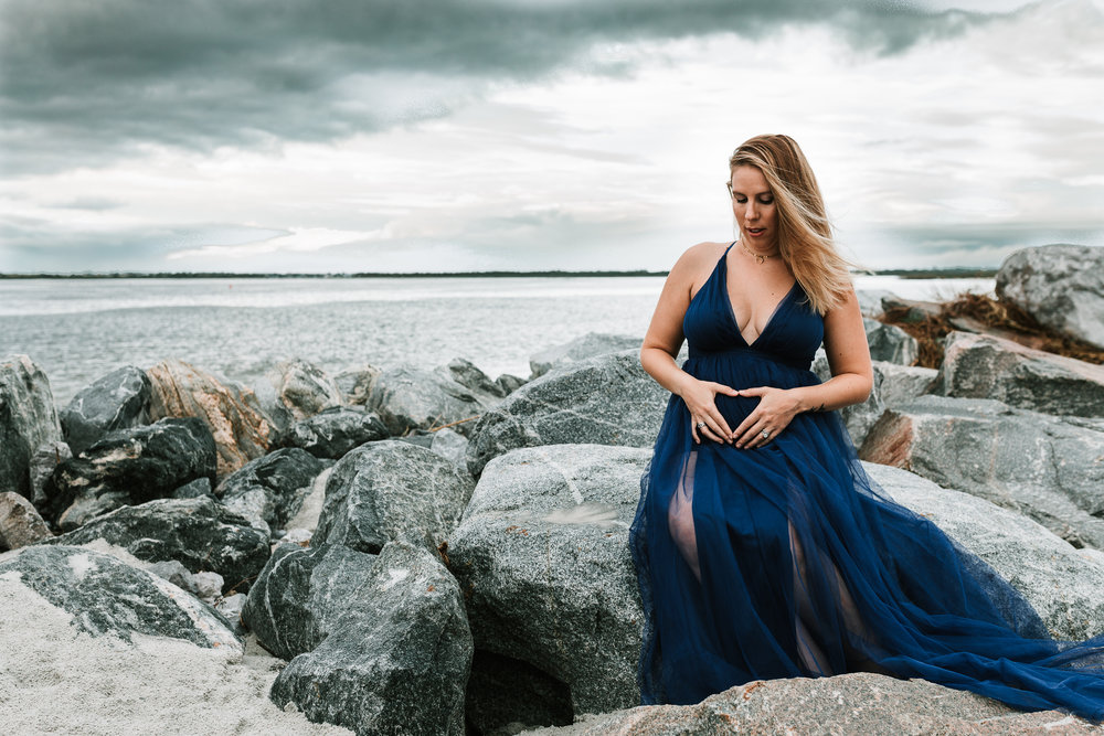 Ponce Inlet Maternity Photographer