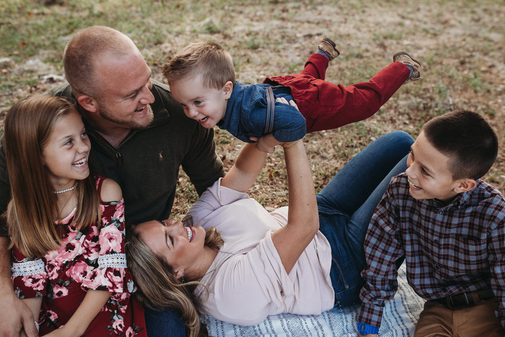 Daytona Beach Family photographer, cute florida family photos and how to dress for christmas photos