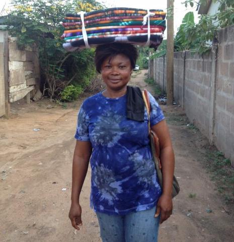 First Cloth-Maker Returns to Share Business Progress