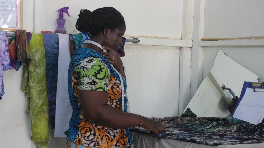 Matilda Designs Accessory Products Using Scrap Fabrics
