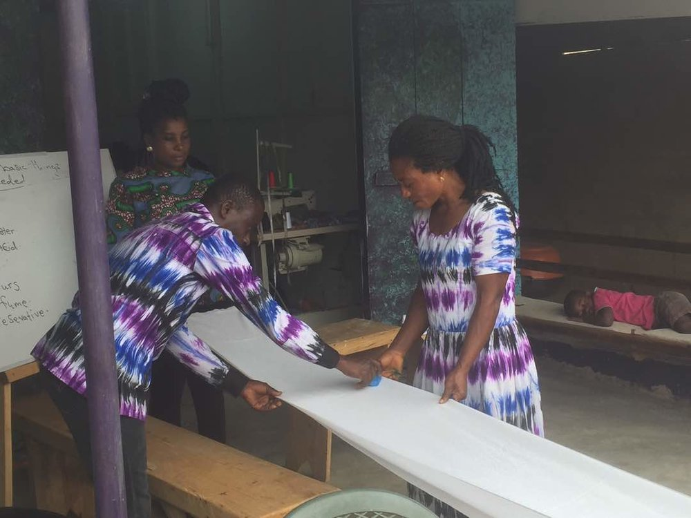 Second Cloth-Maker Begins Six-Month Training
