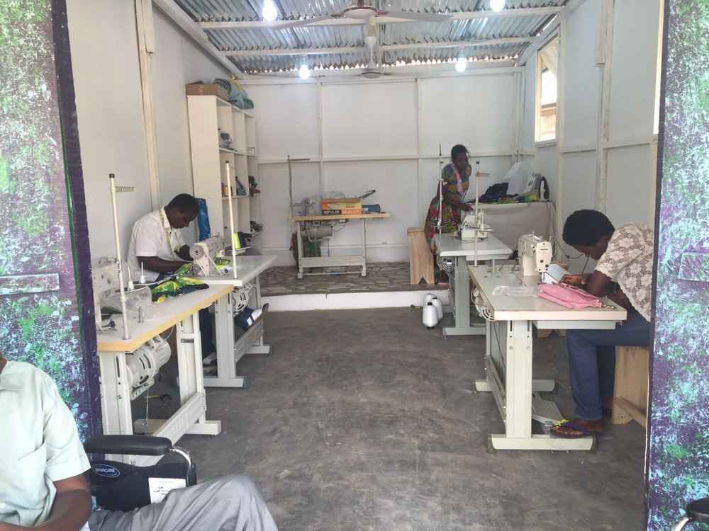 Workshop Opens with One Full-Time Tailor & Seamstress