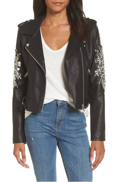 Blank NYC Leather Jacket   Jaclyn Hill introduced me to this beauty and I need it...I actually  need  it. It's currently sold out, so I'm looking for a dupe or patiently waiting for them to bring it back.