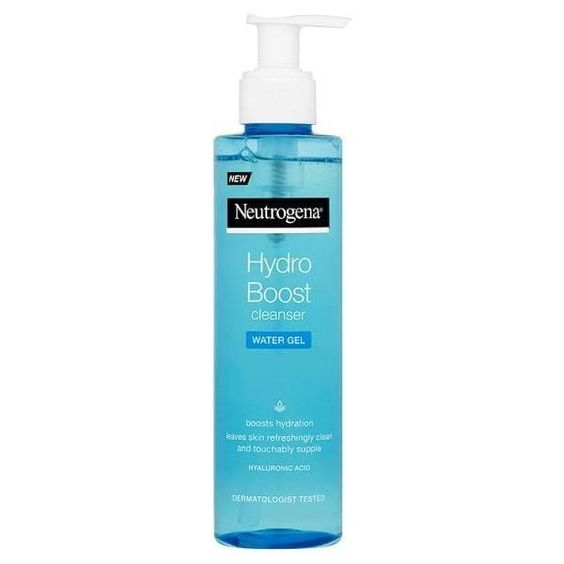 Neutrogena Hydro Boost Water Gel Cleanser with Hyaluronic Acid