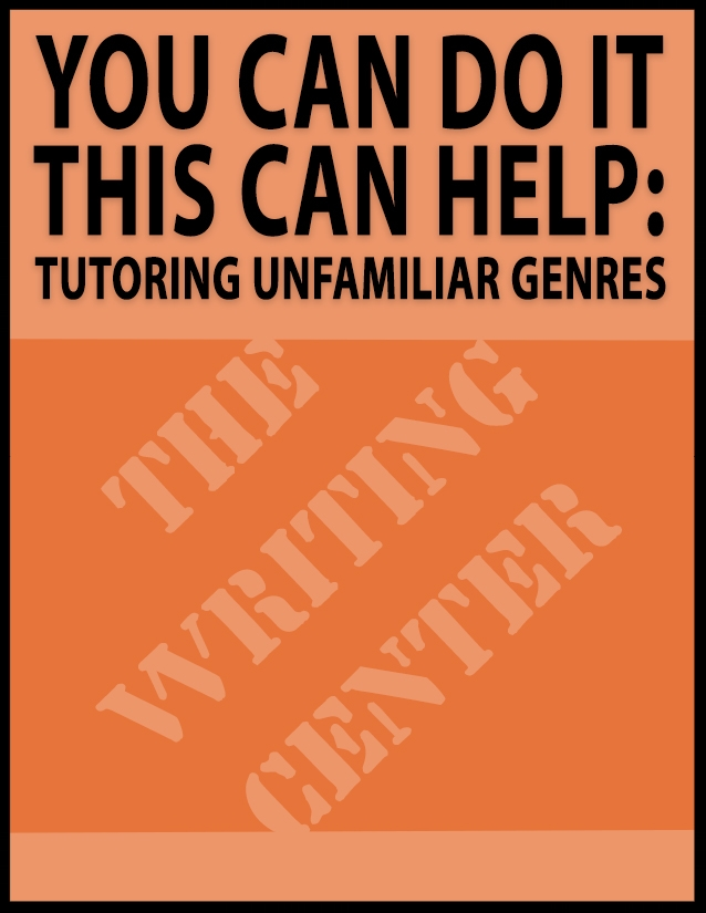 Wondering how to help students from other majors with assignments you never had to write? Click here to learn about the genre approach and other strategies to help you handle any writing assignment.