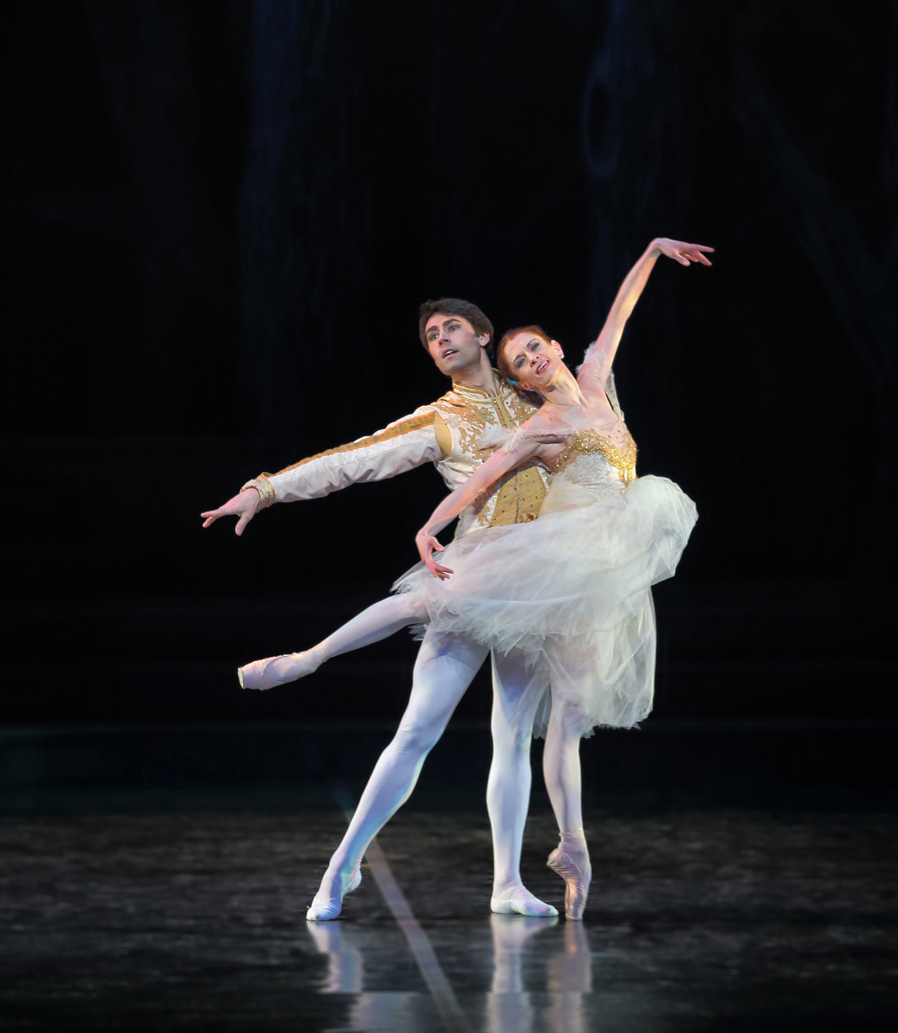 Maria Mosina and Alexei Tyukov in Cinderella - photo by Mike Watson