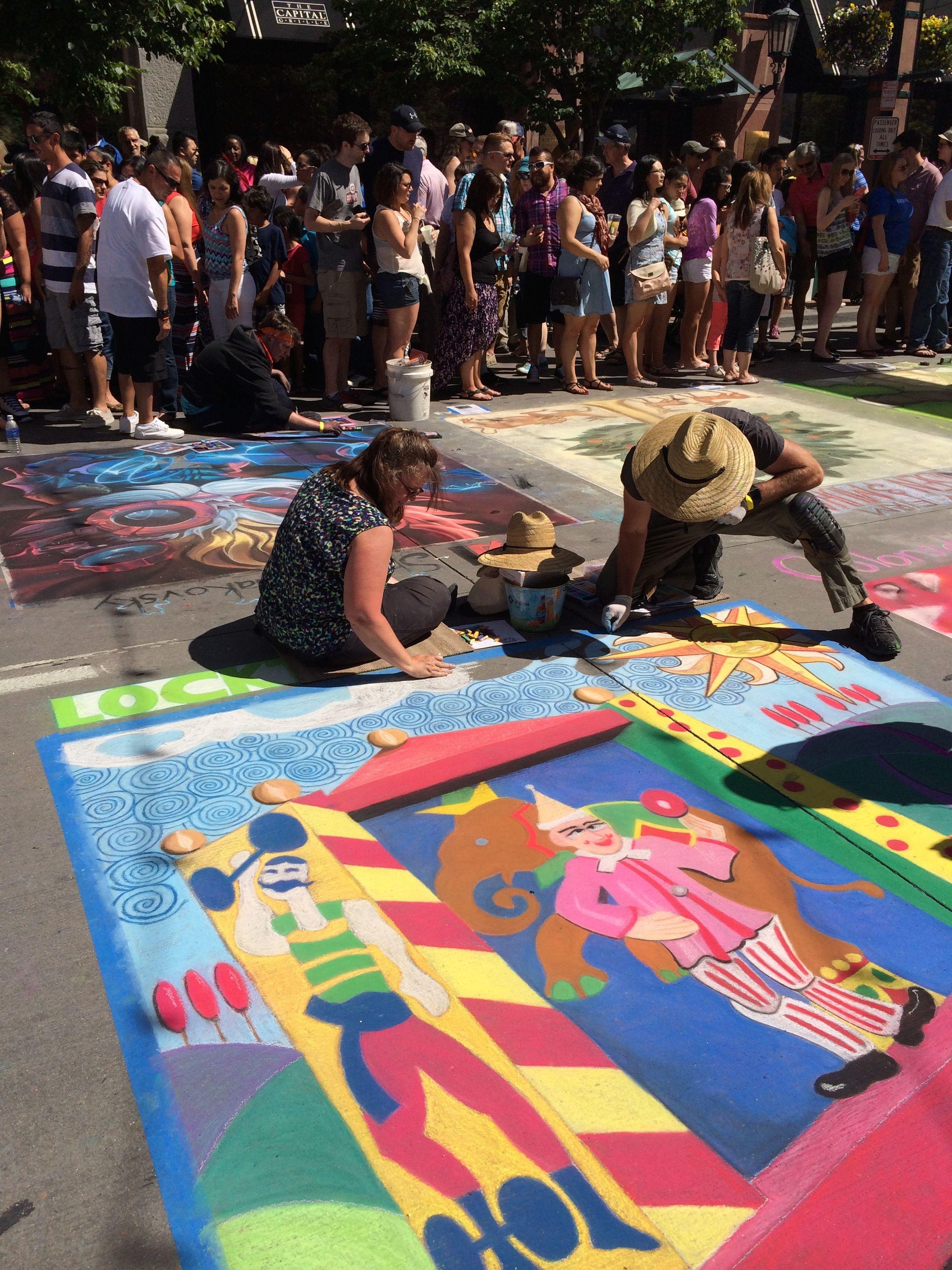 chalk circus