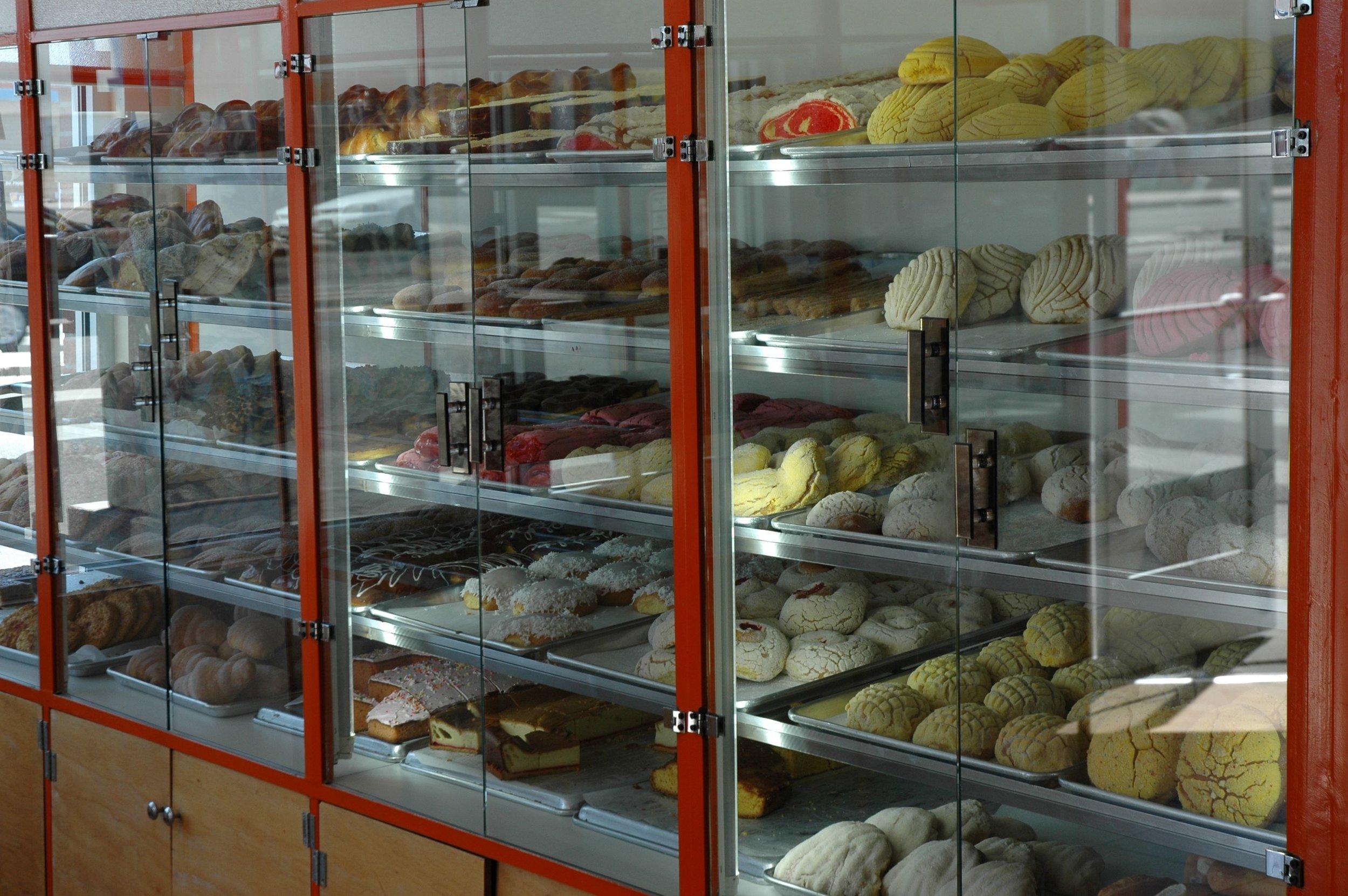 orange bakery case