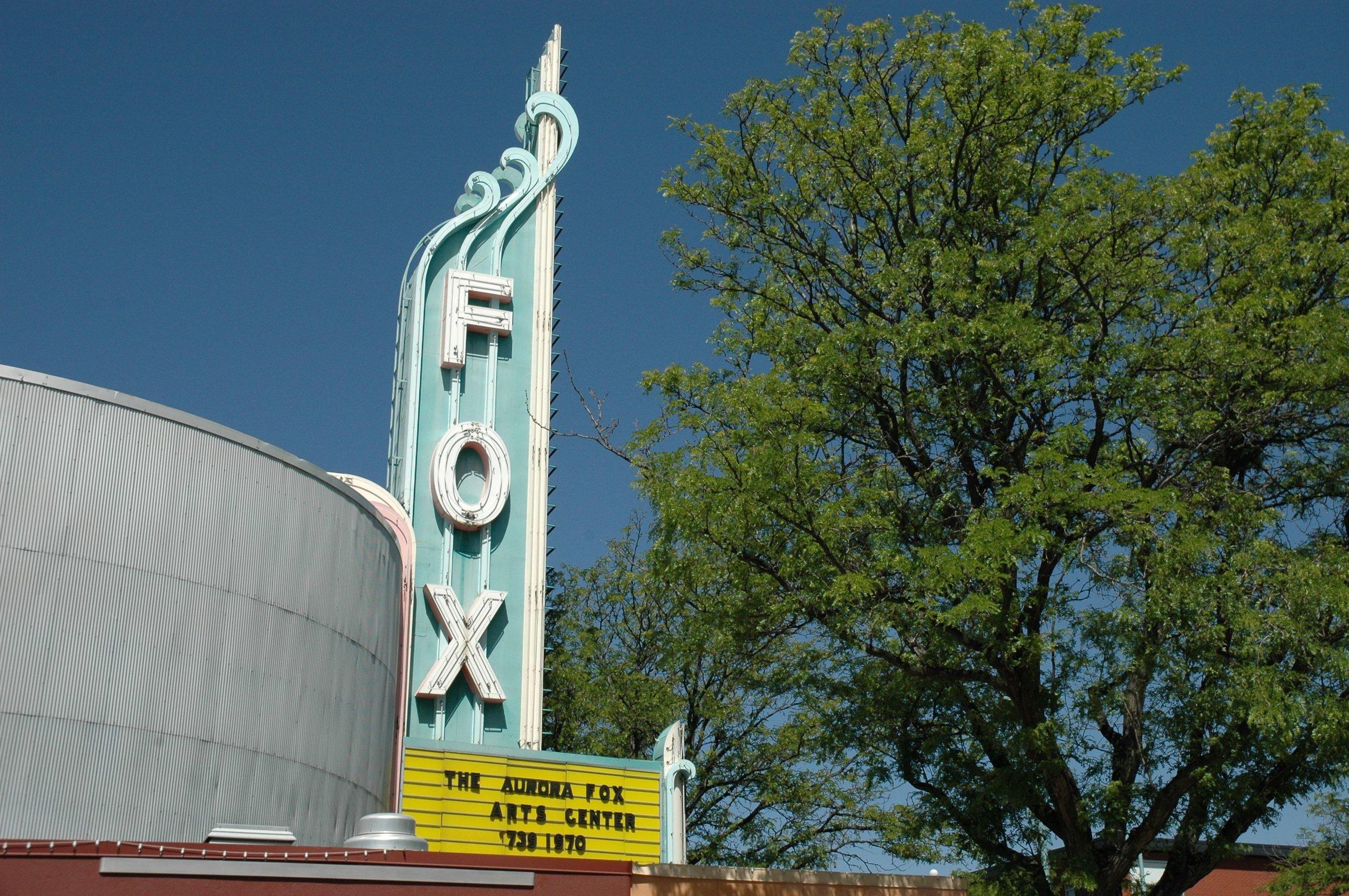 orange fox theater