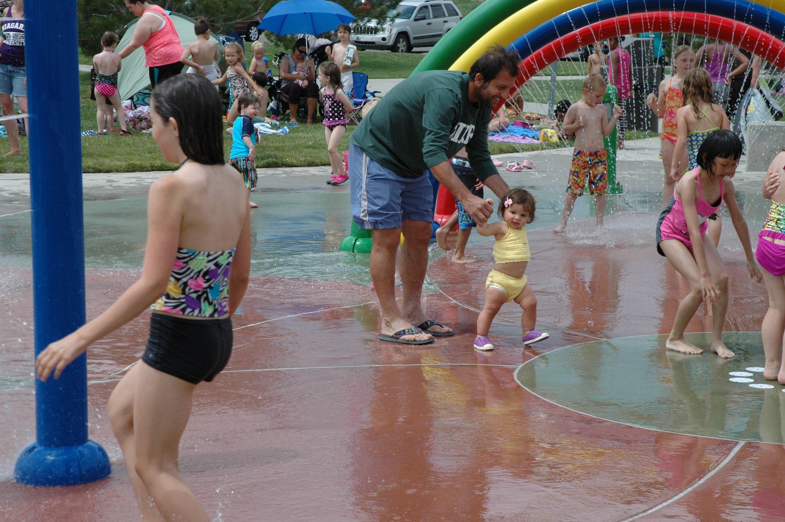 splash run