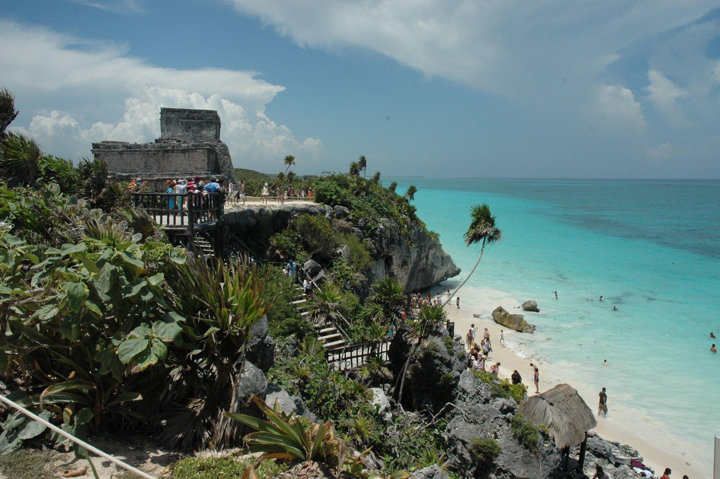 bm tulum beach scene
