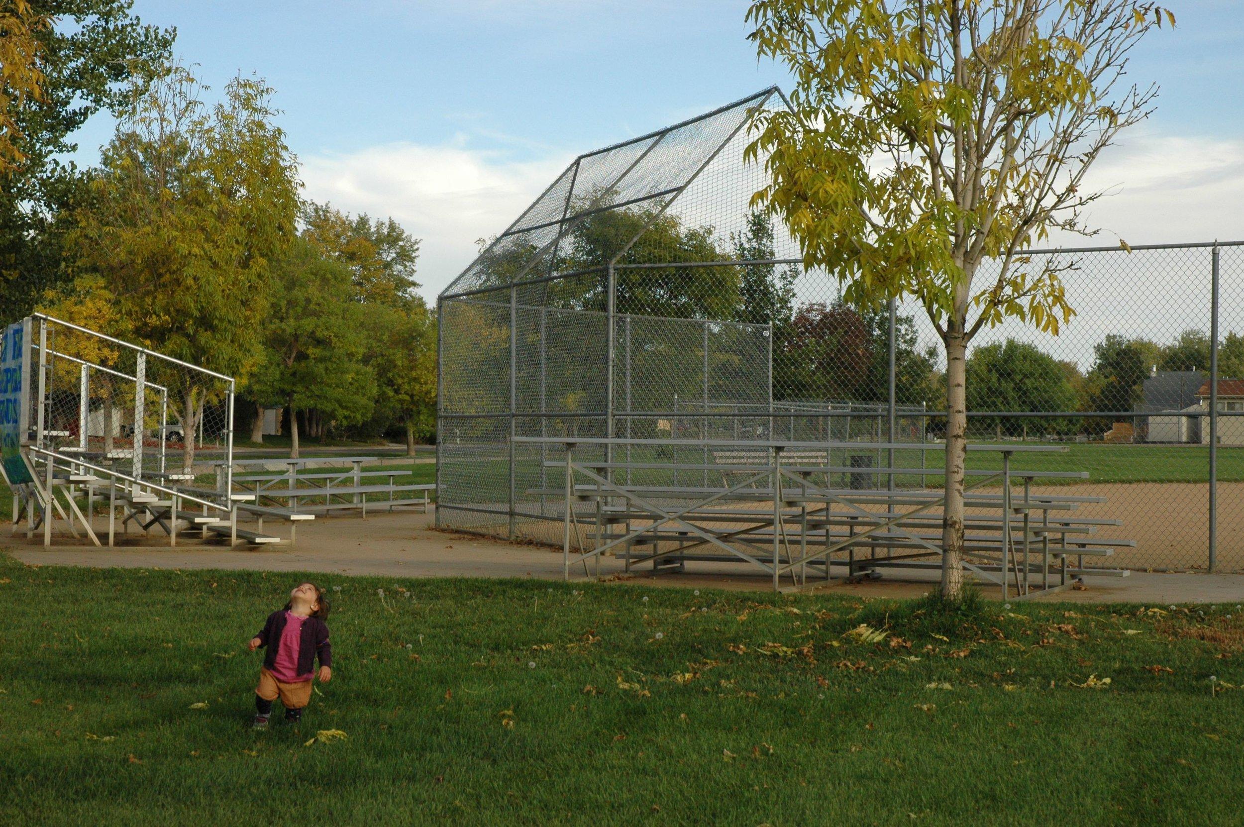 park bleachers