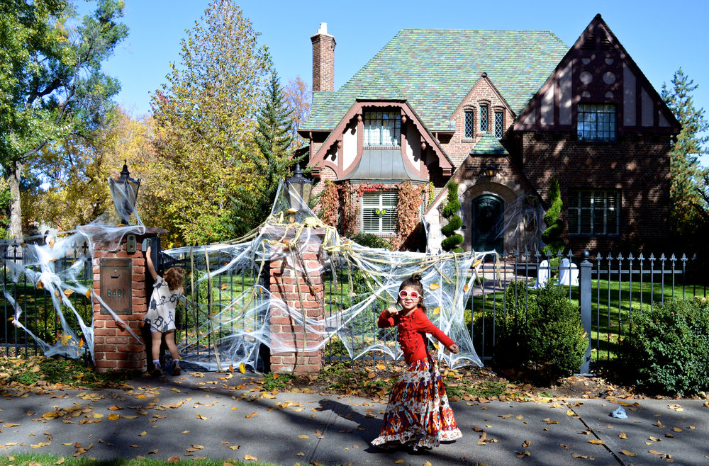 Park Hill Denver Neighborhood in October Decorations 17.jpg