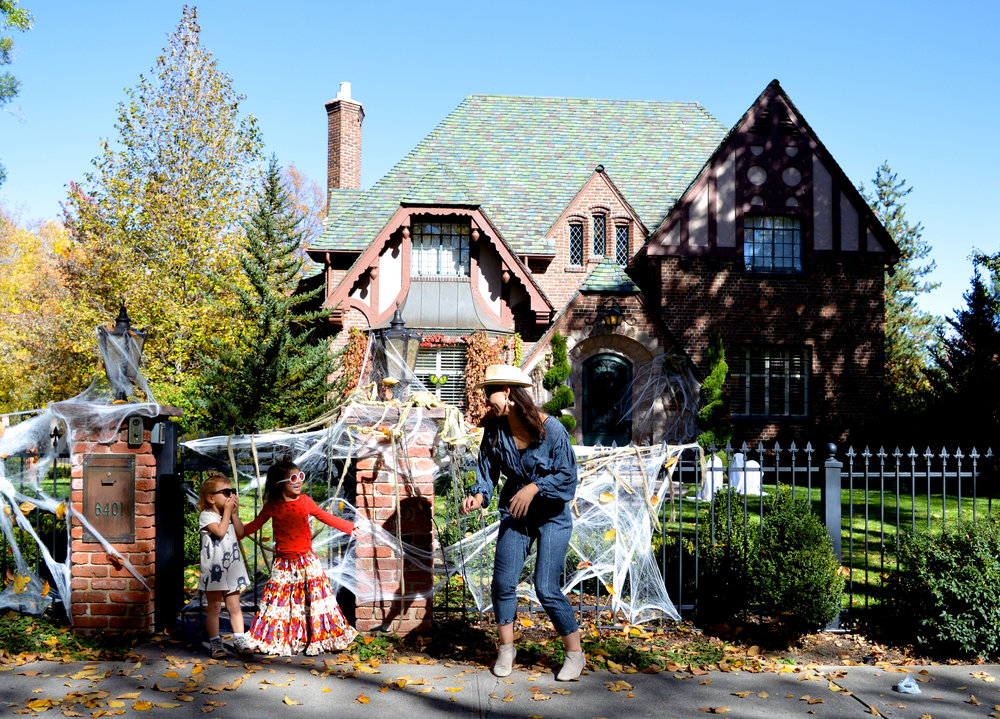 Park Hill Denver Neighborhood in October Decorations 18.jpg