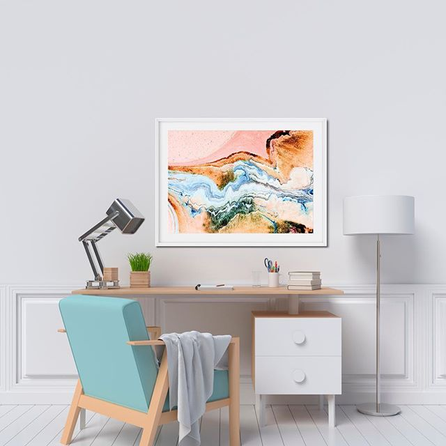 Study Goals A1 Elysian Print on cotton rag paper. . . . . . #office #study #goals #print #photo #landscapesofthemind #interior #frame #home #instagood #photography #photooftheday