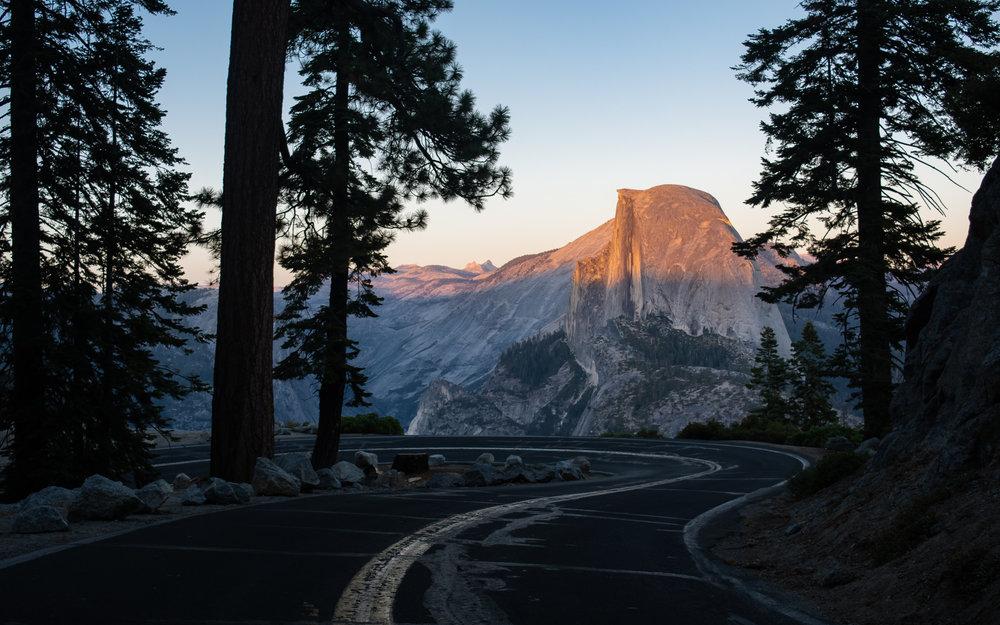 Glacier Point Road Yosemite National Park