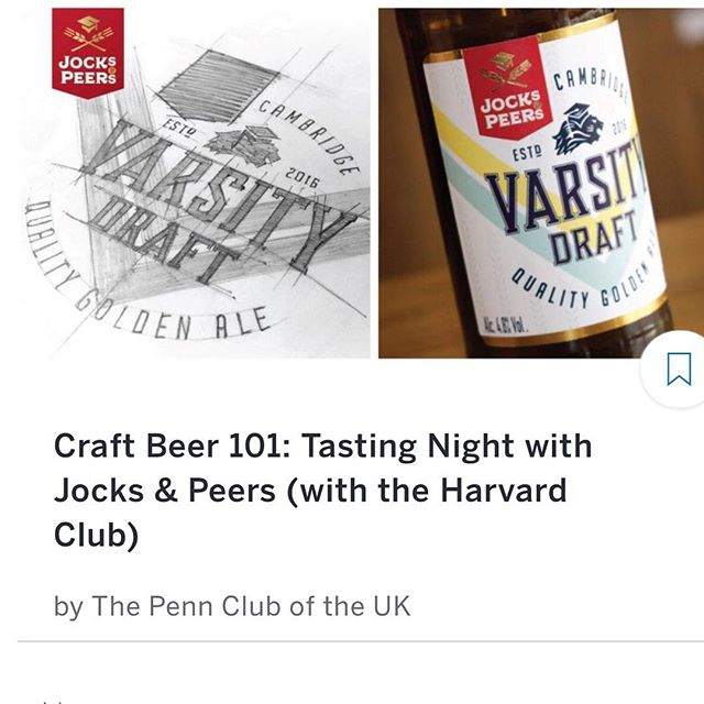Nostalgic for the good old times at Penn, but upgraded your taste in beer? Join the Penn Club and Harvard Club for an evening of craft beer tasting and artisanal pizza, courtesy of our own Penn alumnus Akshit Gupta, founder of the new Jocks & Peers brand, which is taking Cambridge by storm! 28/03/2018 @radioalicepizzeria N16NT, , , #studentbeer #craftbeerlove #craftbeergeek #craftbeer #universityofcambridge #universityofpennsylvania #harvarduniversity #studentbeer #cambridgebornandbred