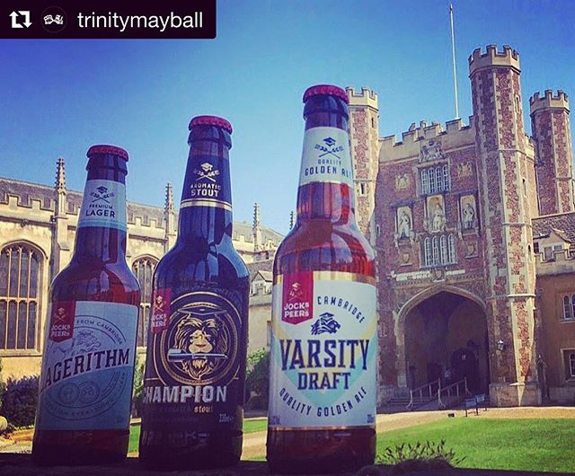 #Repost @trinitymayball with @get_repost ・・・ It's definitely May Ball season - even more drinks deliveries!! @jocksandpeers , Cambridge's very own beer, will be making an appearance at this year's Trinity May Ball! ☀️ #TMB18