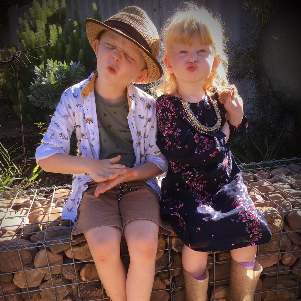 The Juniors   Miaflora is a small family owned and run business. So sometimes you will see our younger helpers around the place. Watering plants, testing out products, creating fairy gardens or sneaking a few strawberries.... We love that they get to be a part of such a beautiful, interesting nature focused environment.