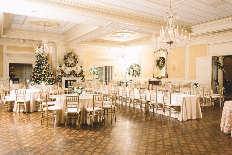 charlotte christmas wedding