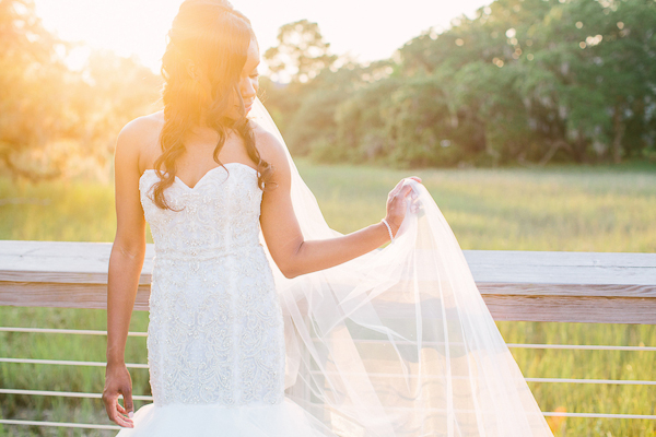 Charleston SC Sunset Bridal Portraits