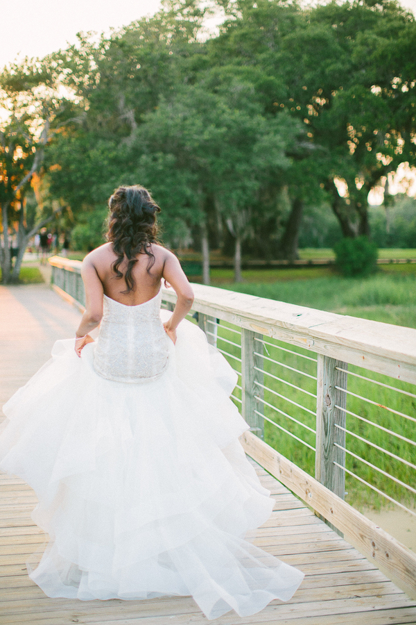 Sunset Bridal Portraits in Charleston, SC