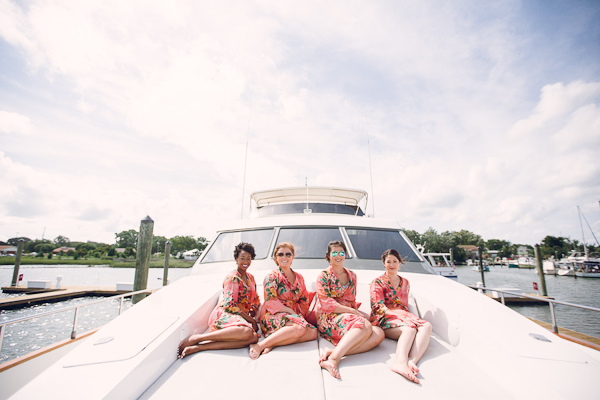 Beaufort North Carolina Yacht Wedding