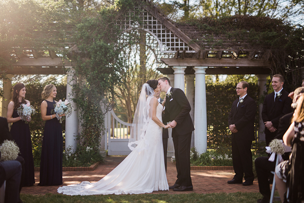 Botanical Garden North Carolina Wedding