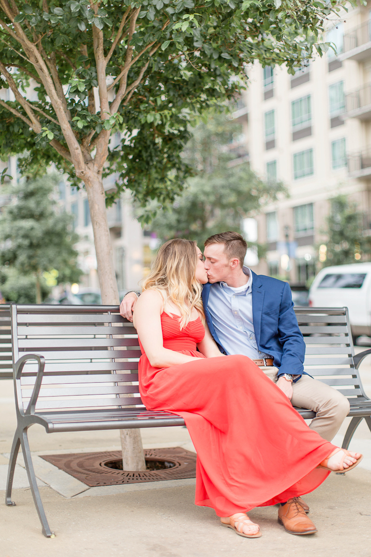 Charlotte North Carolina Engagement Session