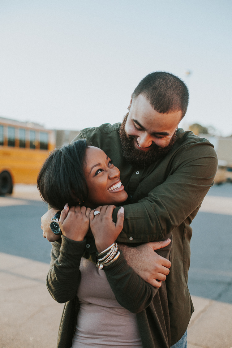 High School Sweetheart Engagement Session