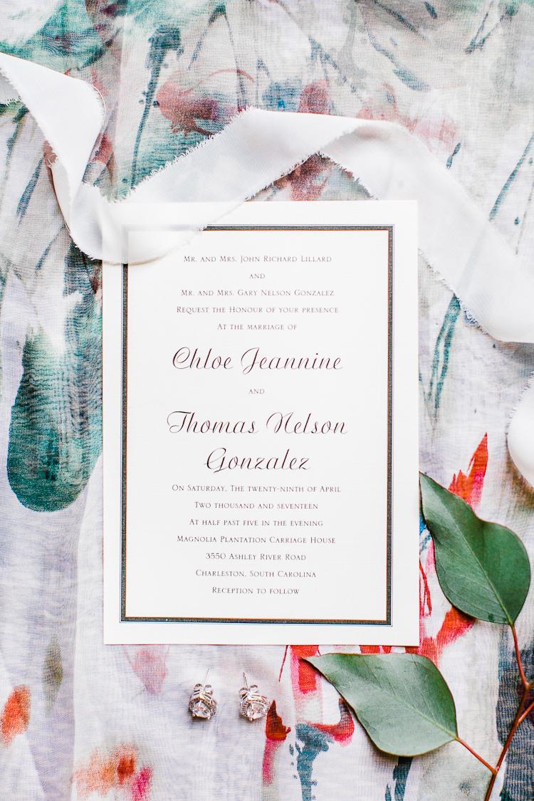 Magnolia Plantation and Gardens Wedding