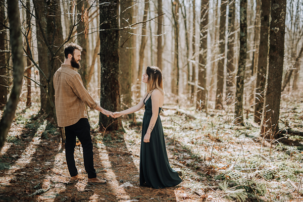 Max Patch Mountain Engagement Session