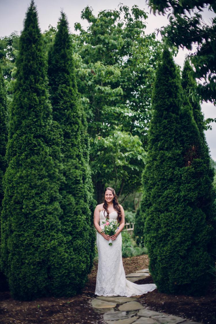 north carolina arboretum wedding