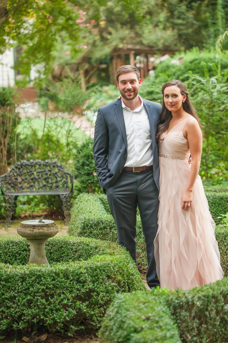Wing Haven Gardens NC Engagement