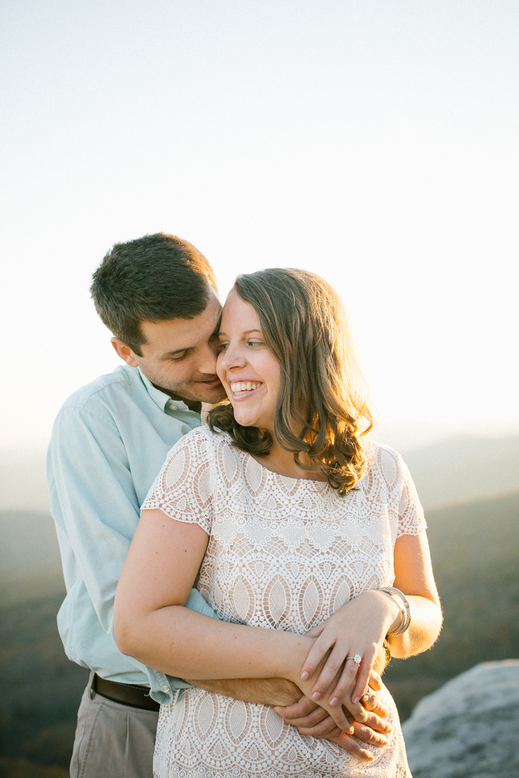 blue ridge mountains engagement
