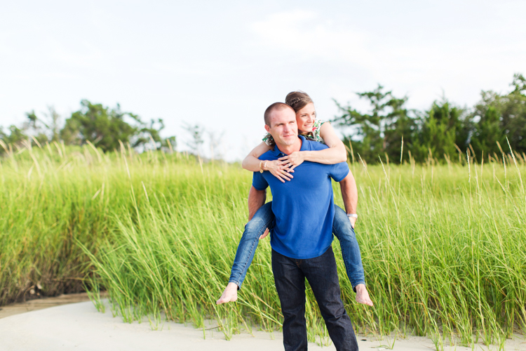 Carolina Beach State Park Engagement